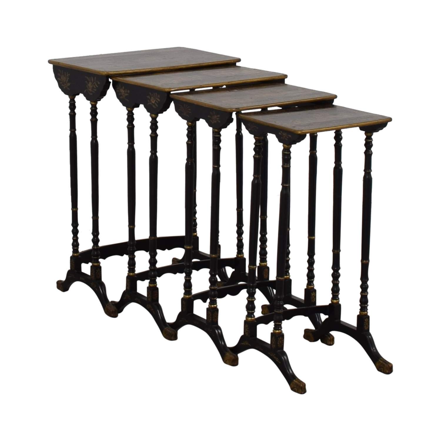 Antique Asian Nesting Tables price