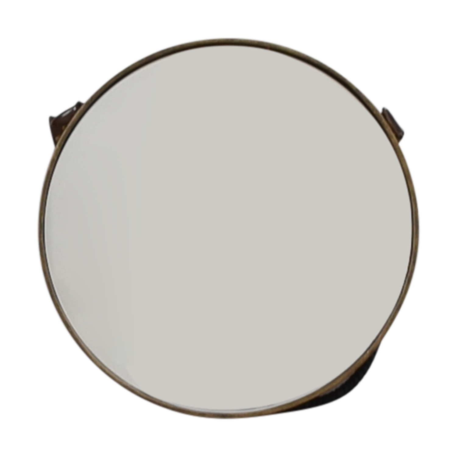 Anthropologie Anthropologie Round Corded Wall Mirror second hand