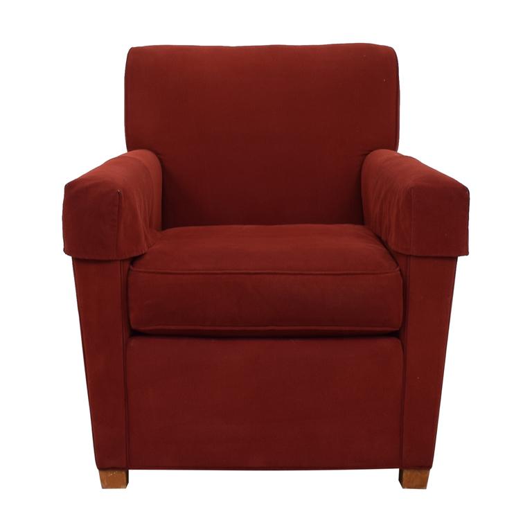 Stickley Red Arm Chair Stickley Furniture