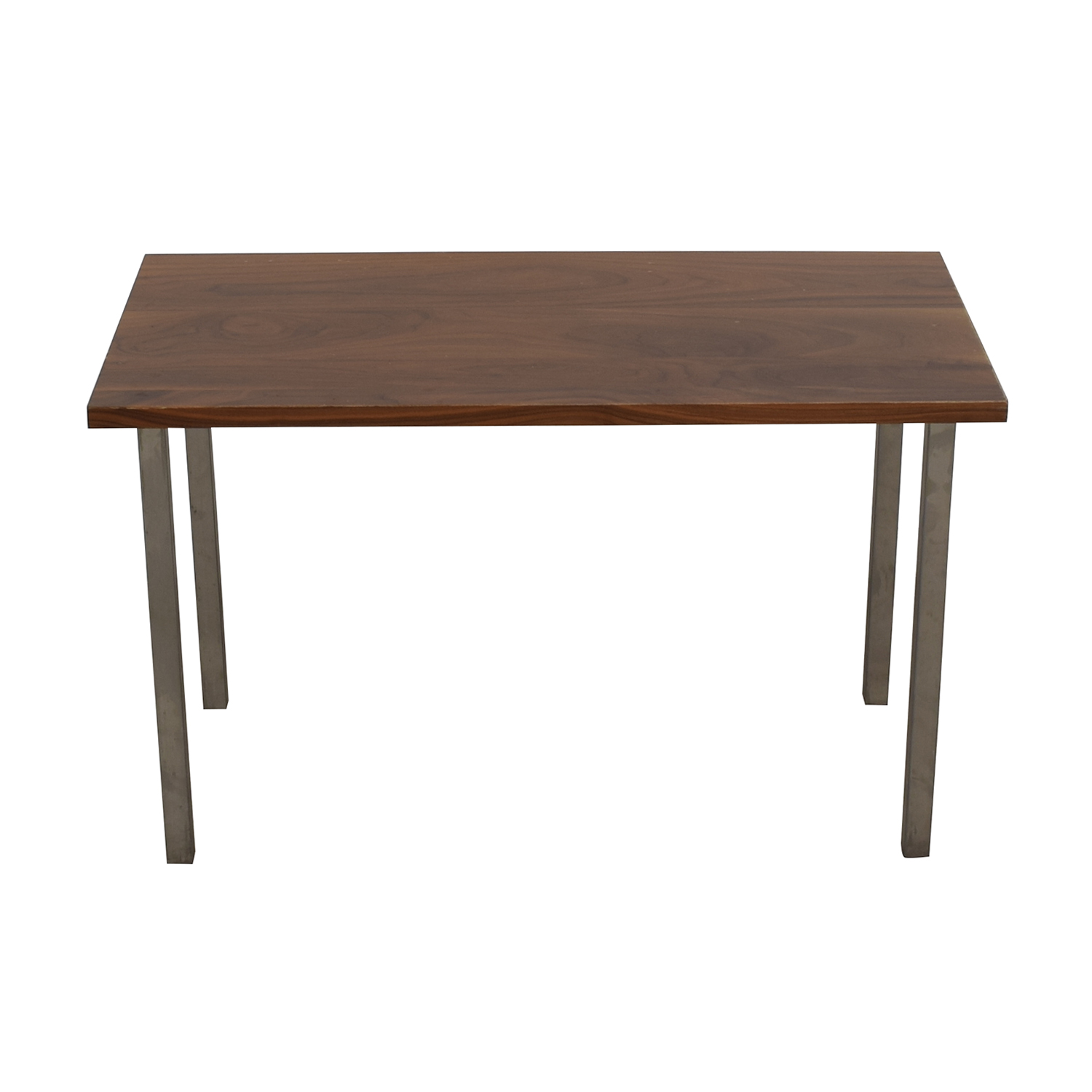 Room & Board Room & Board Rand Natural Wood and Steel Table second hand