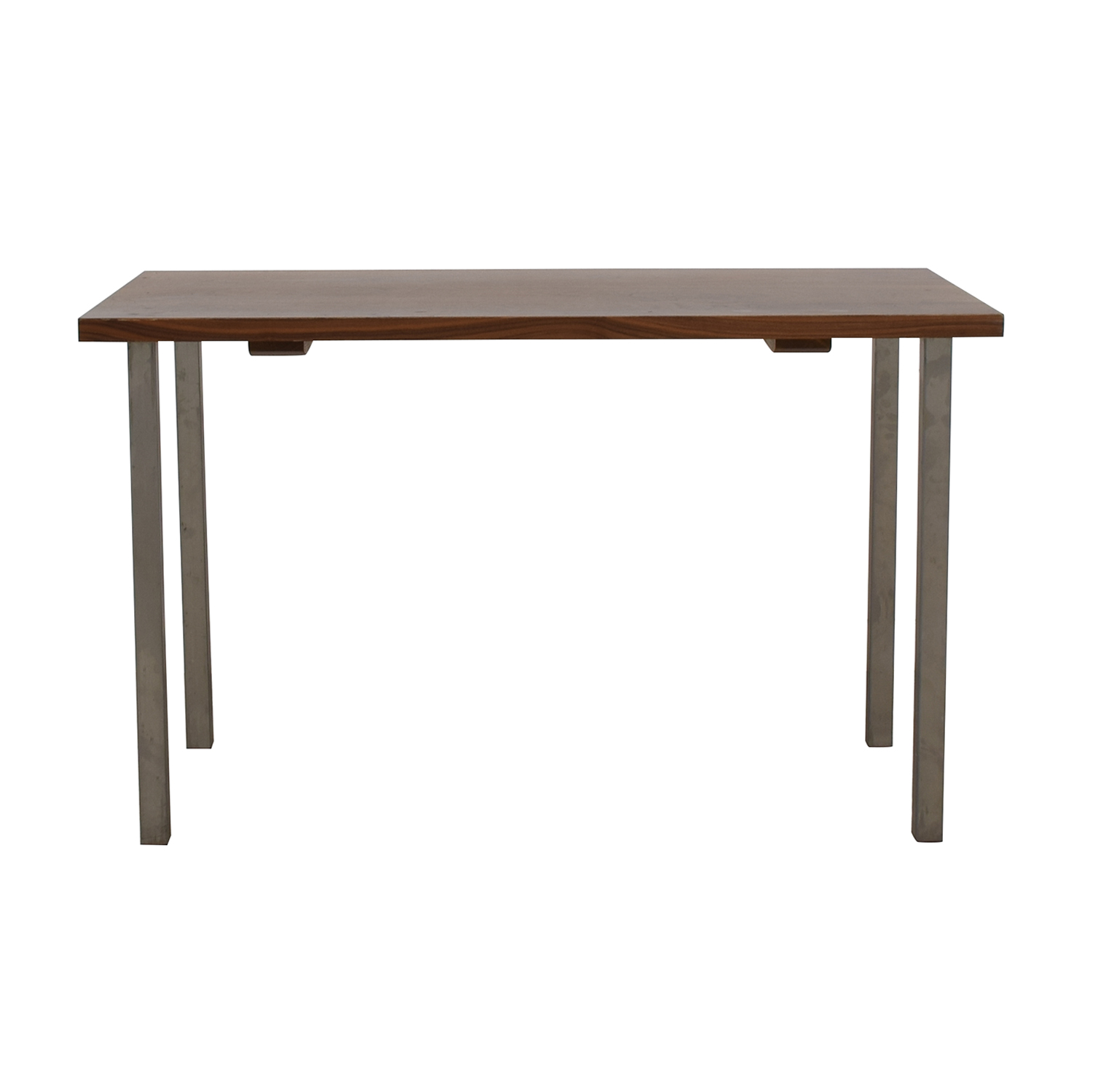 buy Room & Board Rand Natural Wood and Steel Table Room & Board Dinner Tables