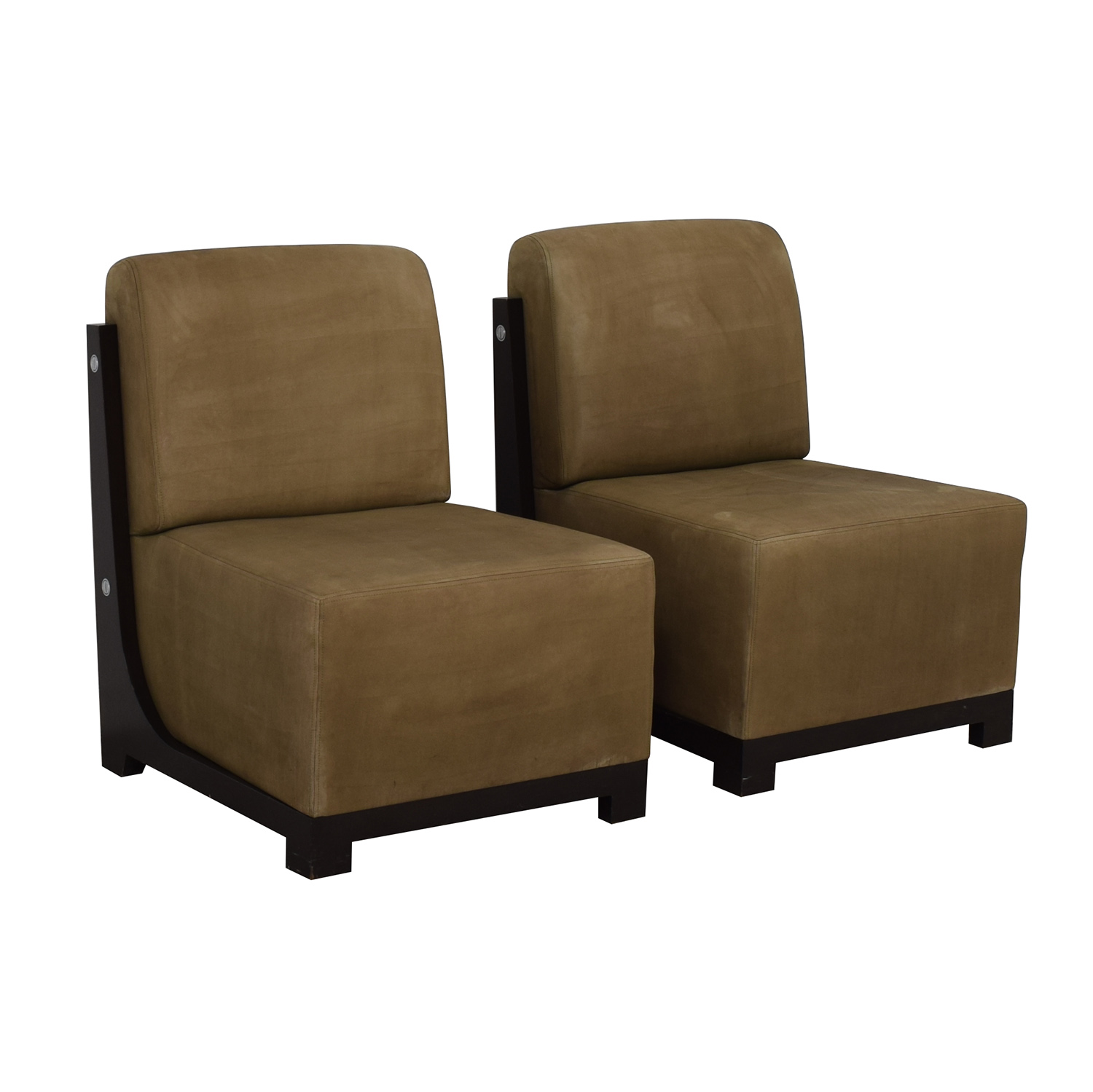 Furniture Masters Furniture Masters Tan Accent Chairs used