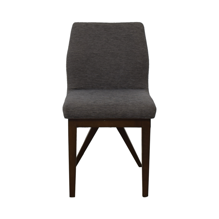 Furniture Masters Furniture Masters Mid Century Gray Chair discount