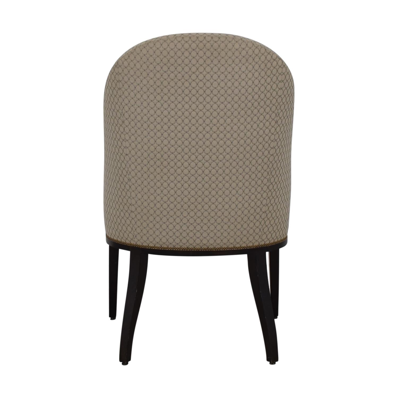 buy Furniture Masters Beige Circle Chair Furniture Masters