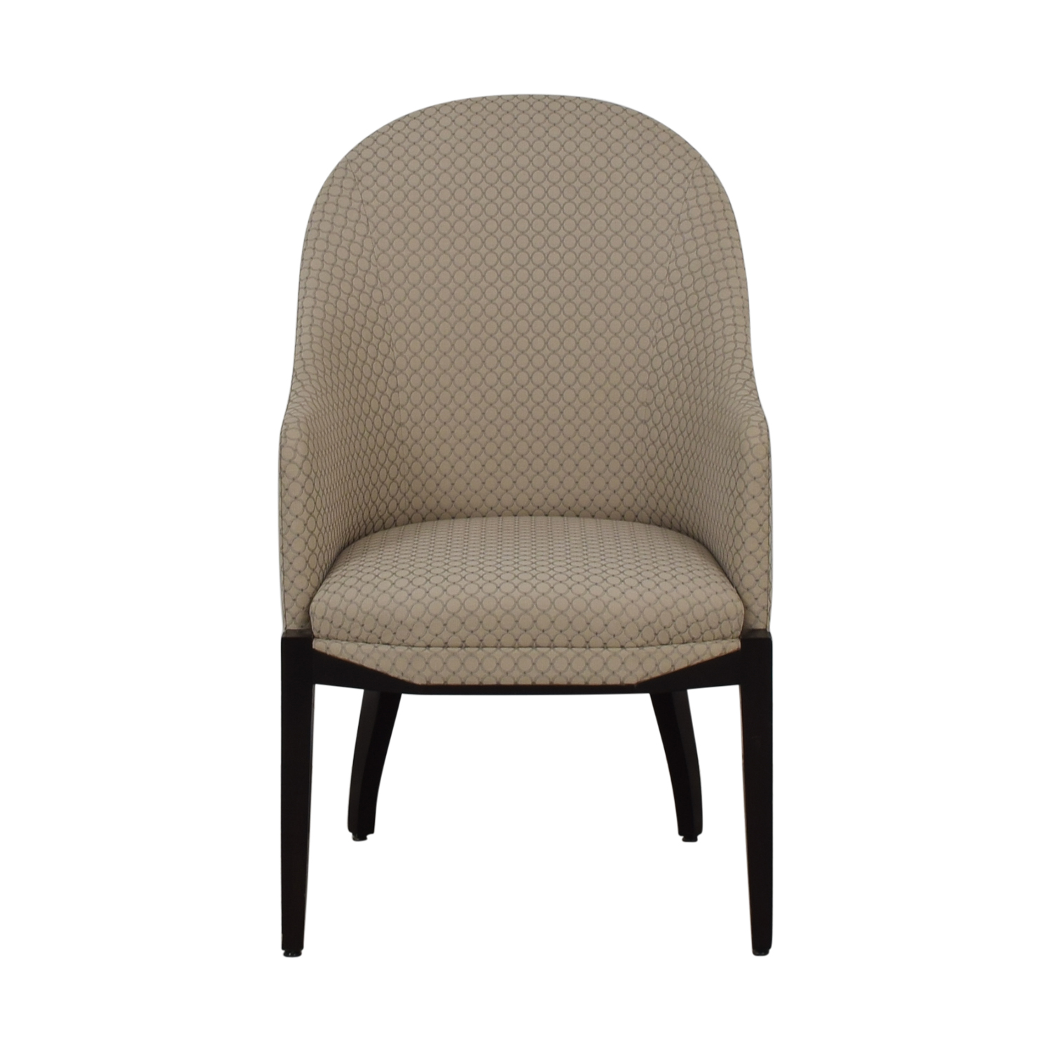 Furniture Masters Beige Circle Chair / Chairs