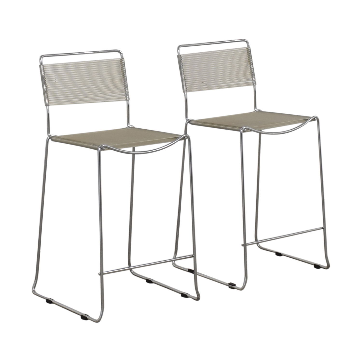 Chrome Counter Stools nyc
