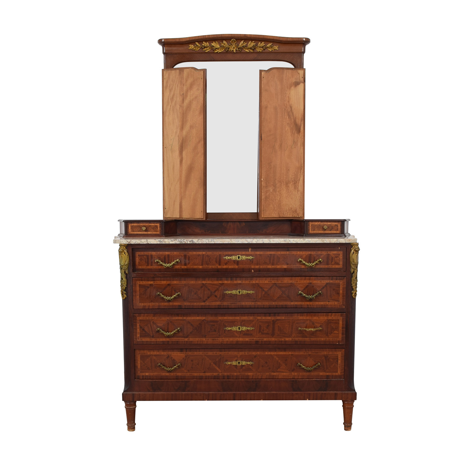 Furniture Masters Furniture Masters Vintage Dresser with Mirror coupon