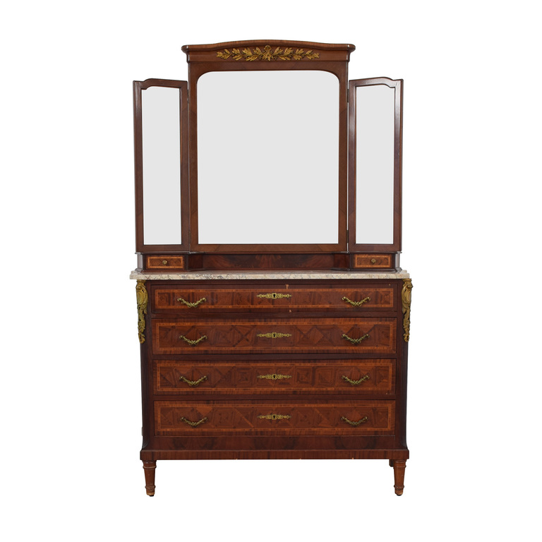 Furniture Masters Furniture Masters Vintage Dresser with Mirror nyc