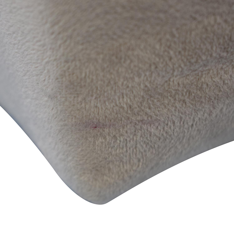 Room & Board Room & Board Wyatt Grey Queen Platform Bed Frame nj