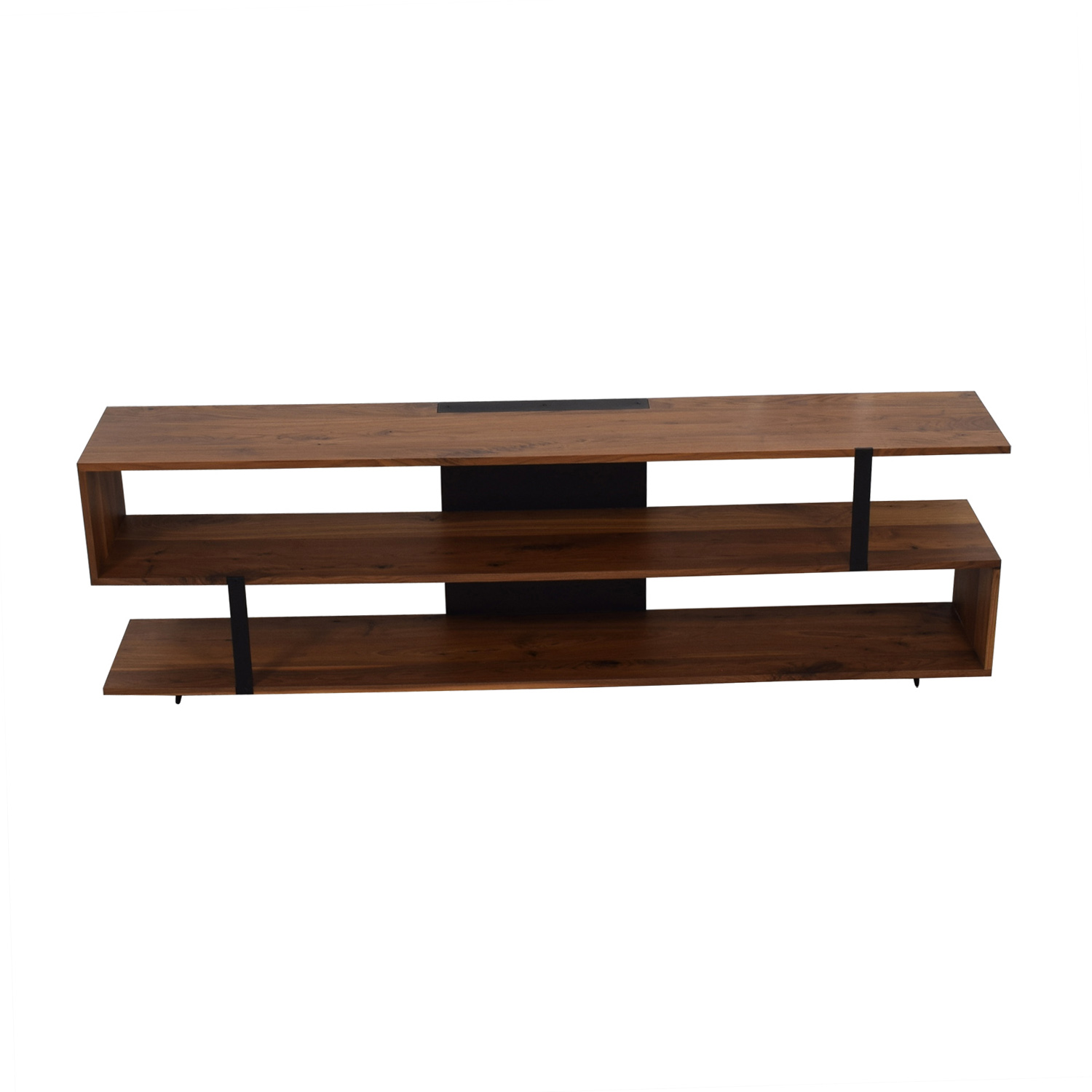Crate & Barrel Crate & Barrel Wood Media Stand dimensions