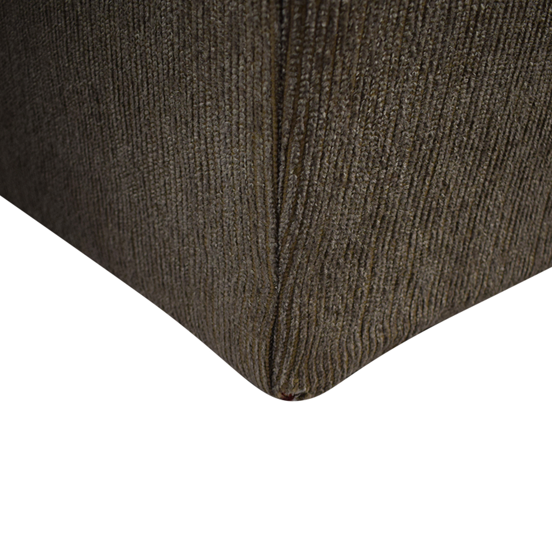 Hughes Furniture Brown Two-Cushion  Loveseat / Loveseats