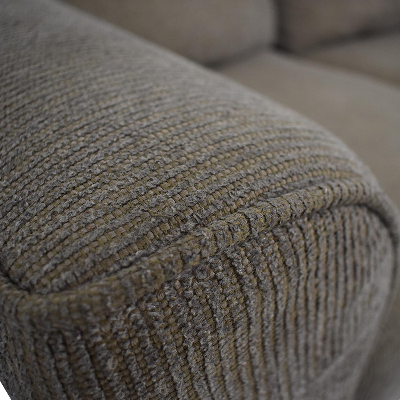 Hughes Furniture Hughes Furniture Brown Two-Cushion  Loveseat price