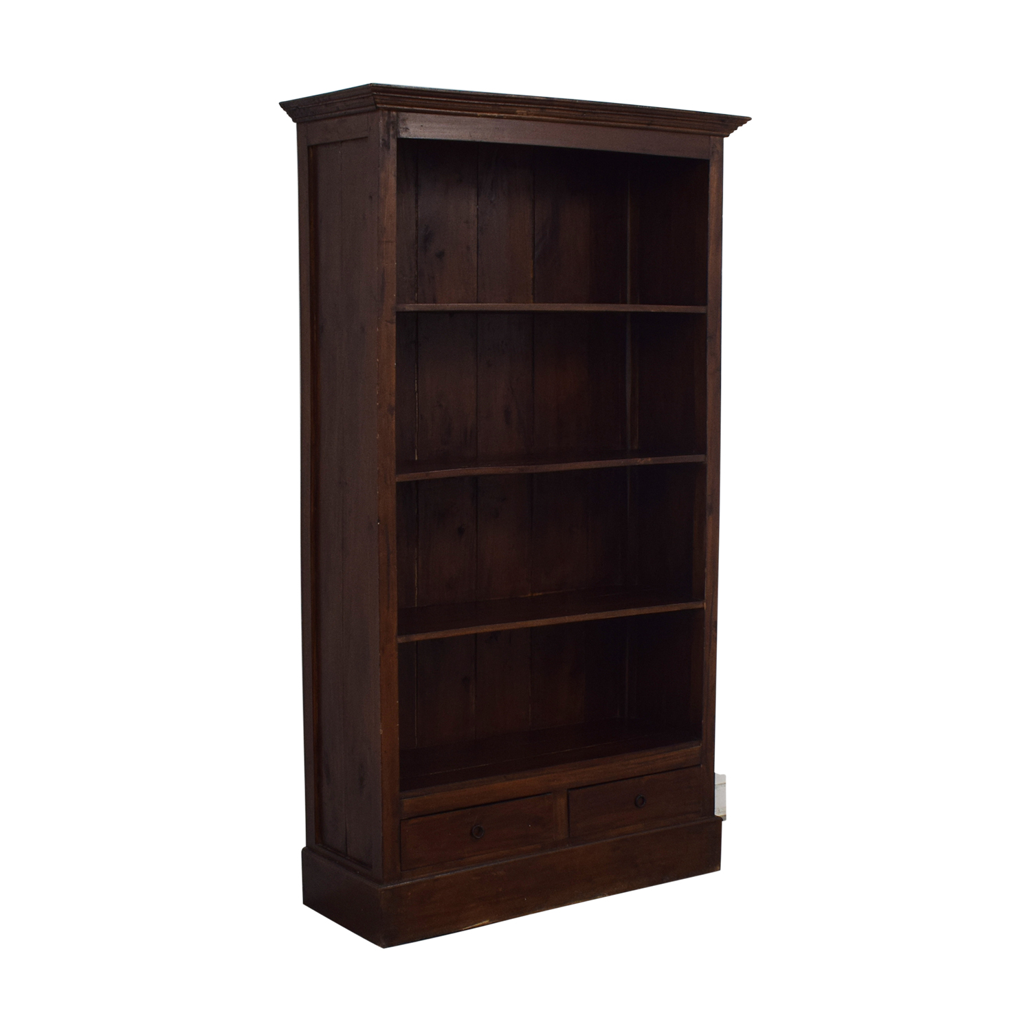 Two Drawer Wood Bookcase price