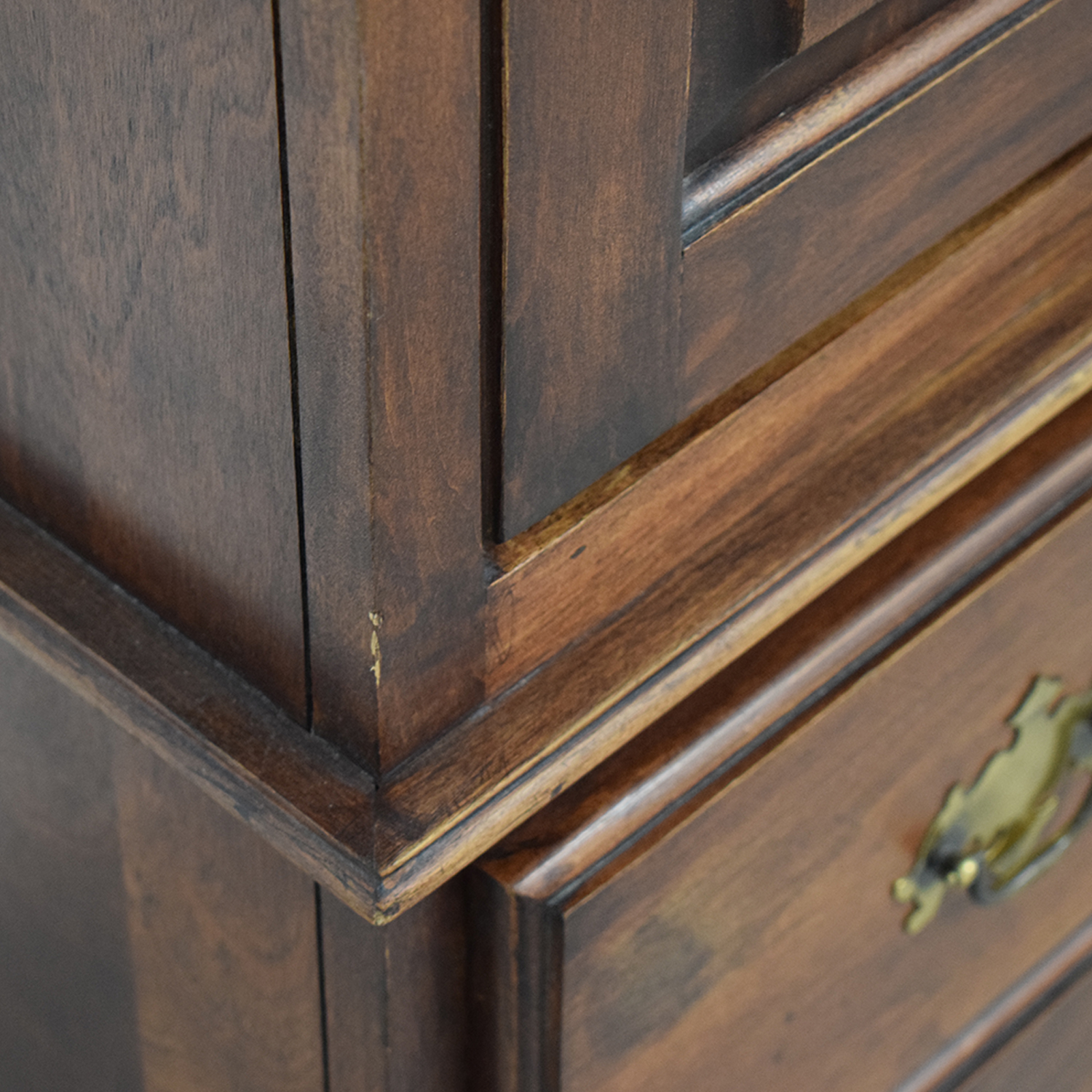 shop Wood Three-Drawer Media Armoire  Storage