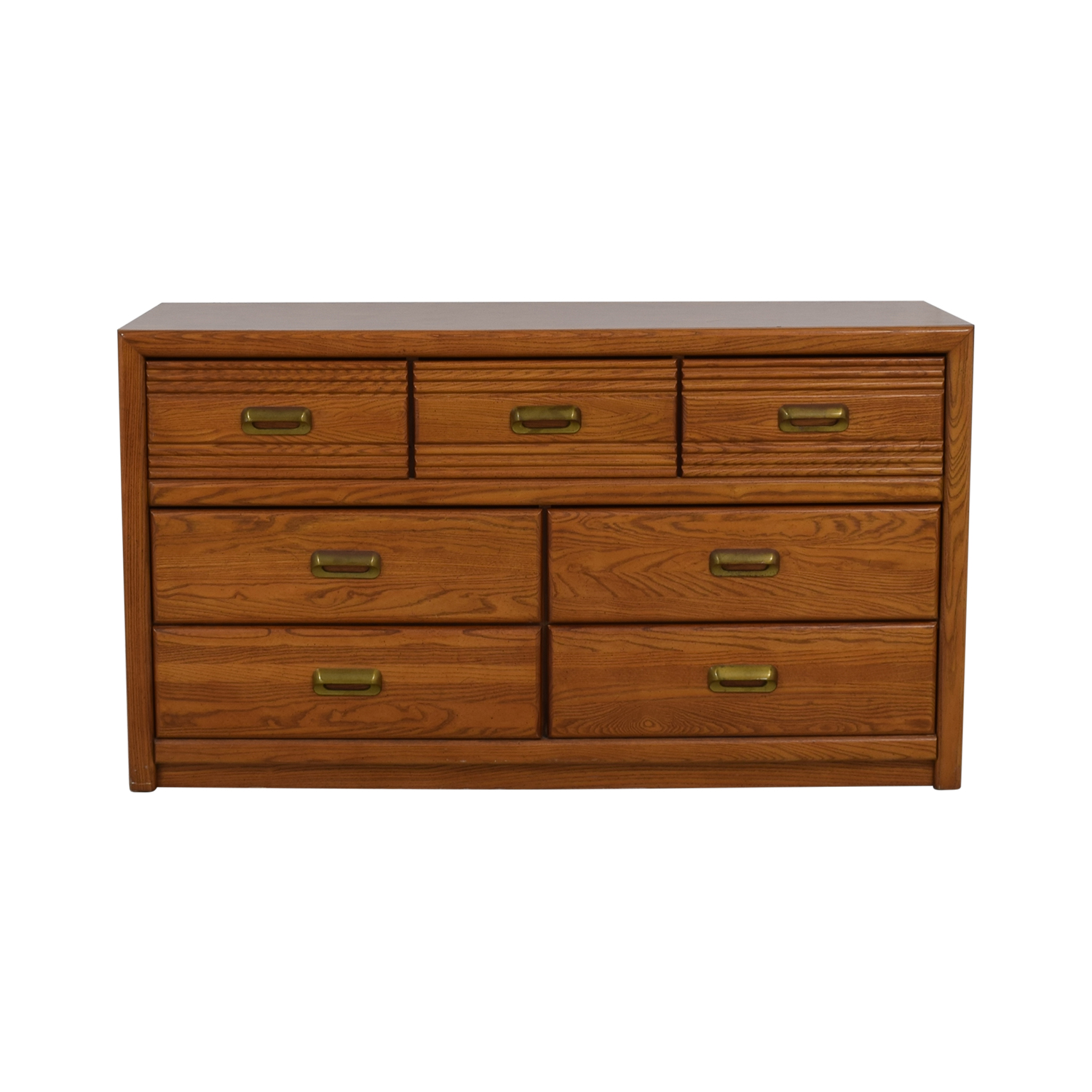 Stanley Young American Seven-Drawer Dresser sale