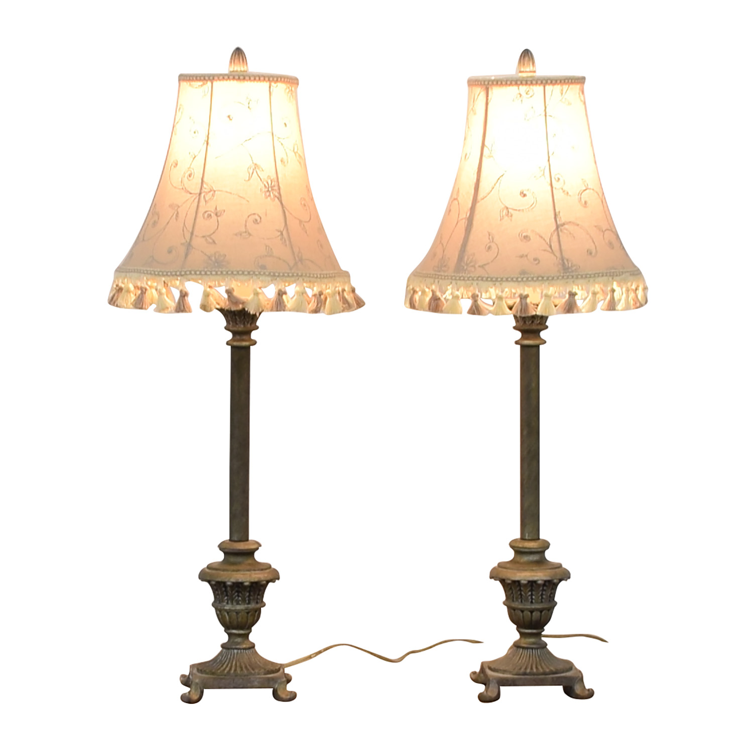 Bronze Distressed Accent Lamps sale
