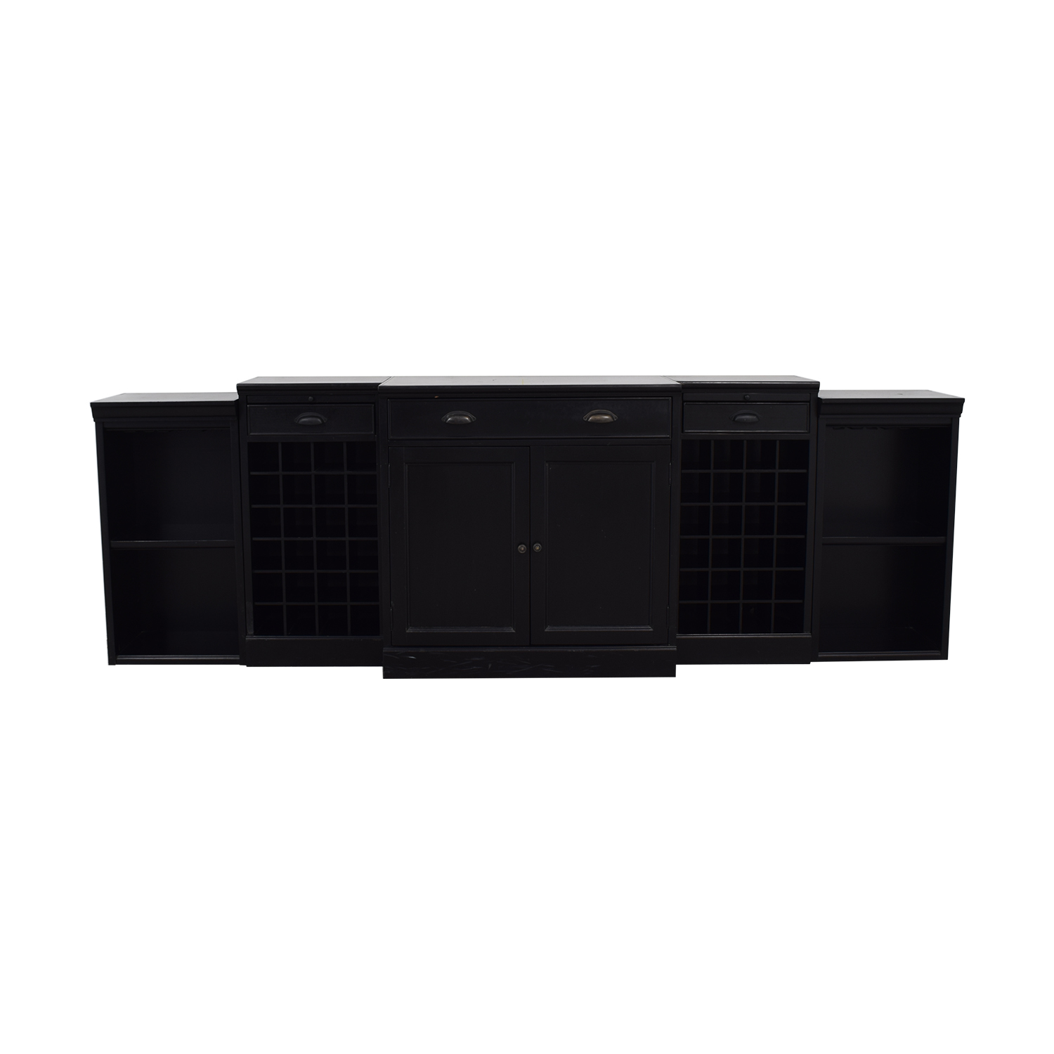 buy Williams Sonoma Black Entertainment Center Williams Sonoma Media Units