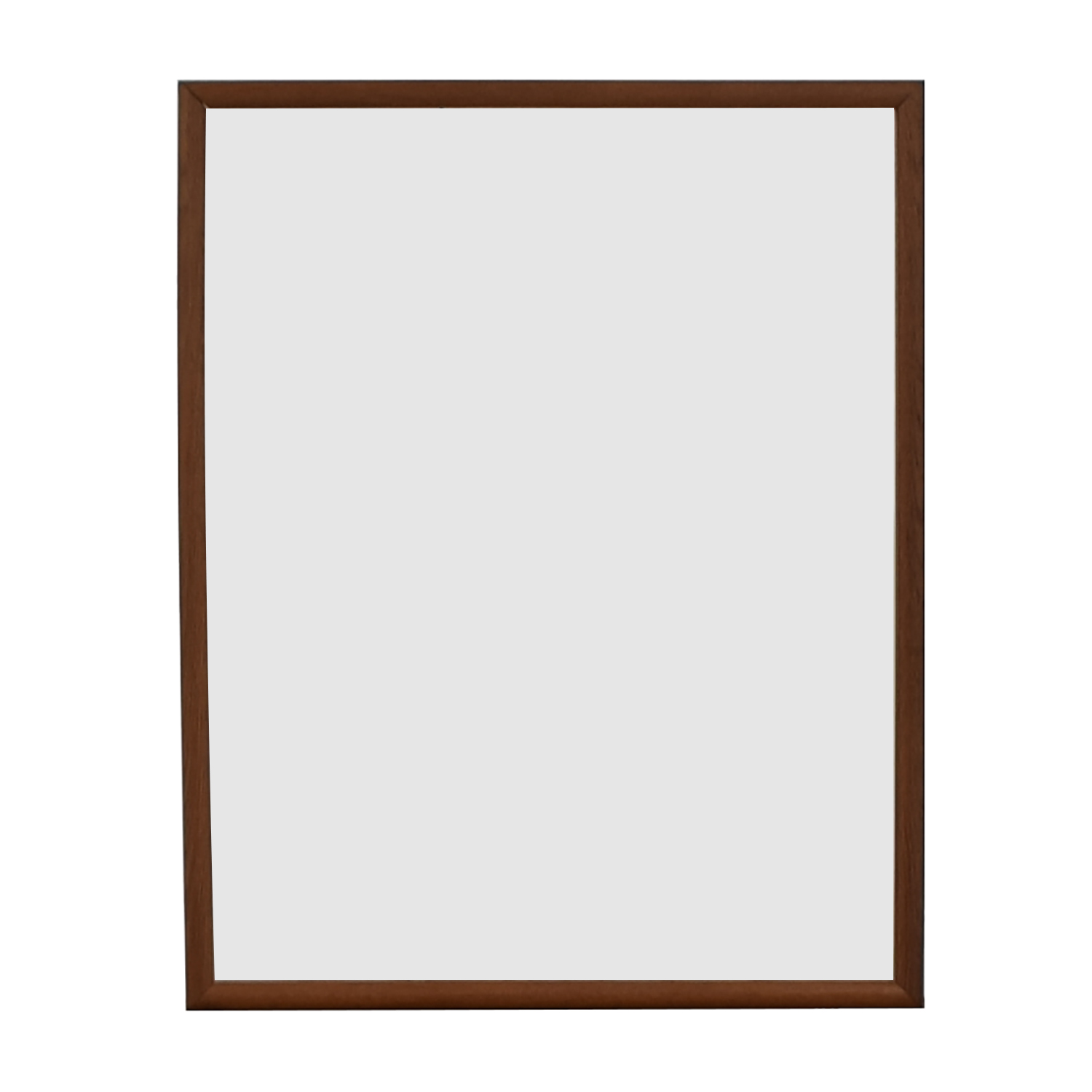Wood Framed Wall Mirror on sale