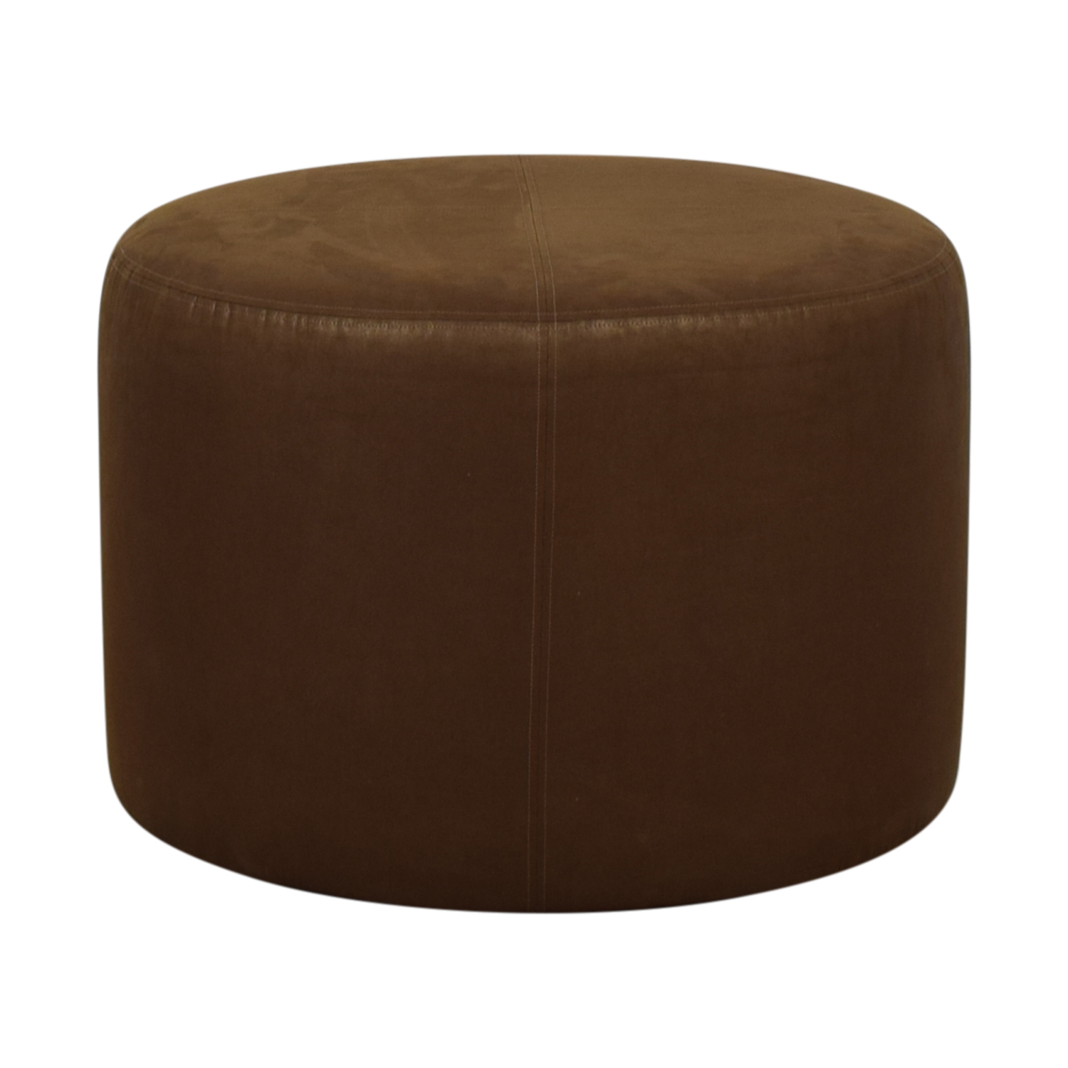 90 Off Burgundy Tufted Leather Ottoman Chairs