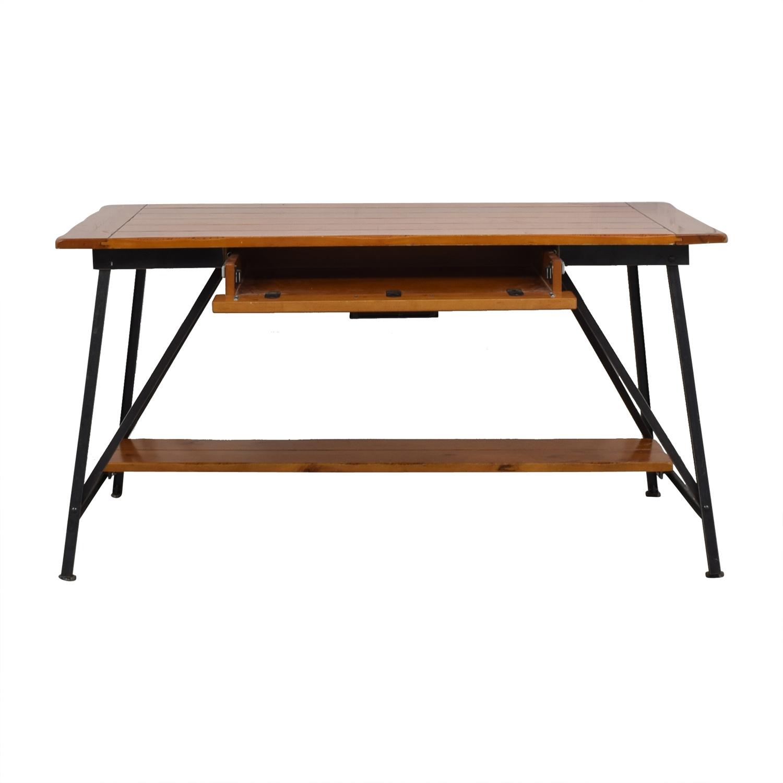 buy Pottery Barn Pottery Barn Vintage Farm Table Desk online