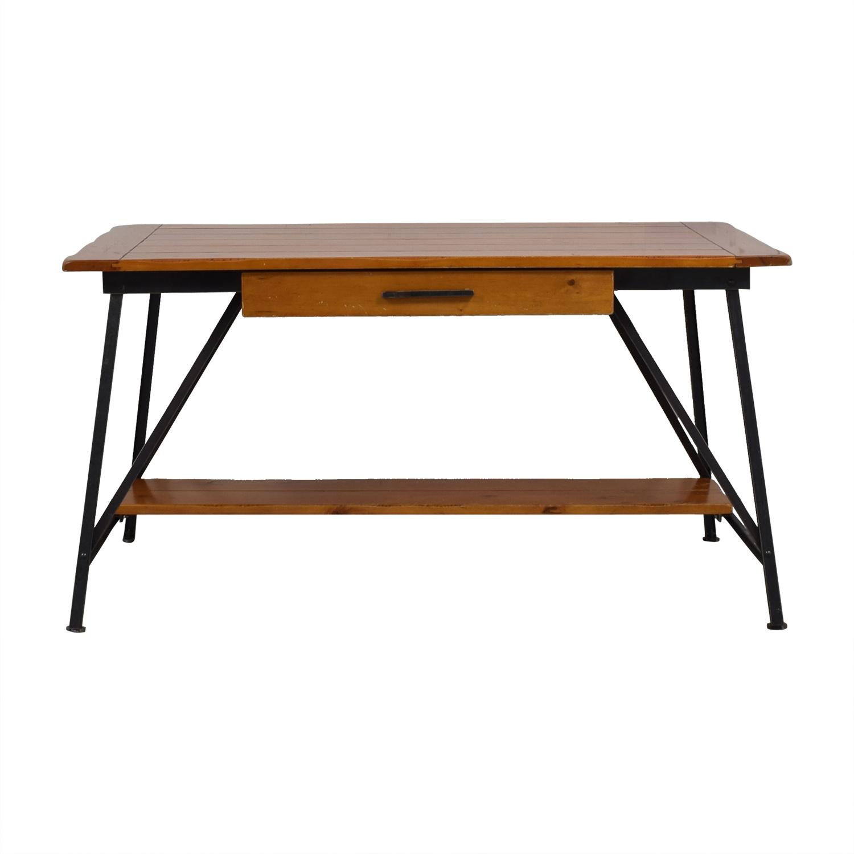 Pottery Barn Pottery Barn Vintage Farm Table Desk Home Office Desks