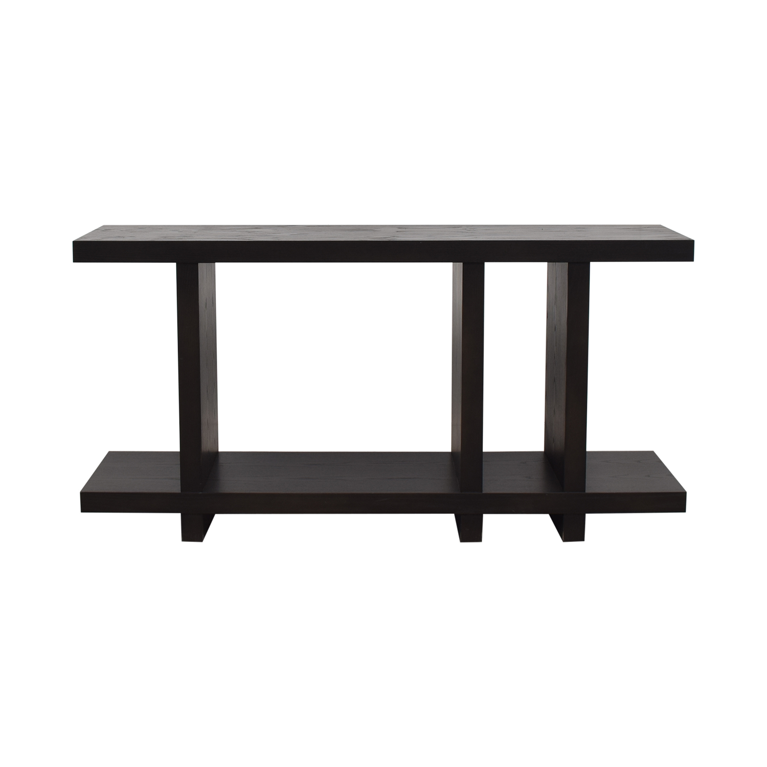 Desiron Desiron Ebony Wood Side Table Media Units