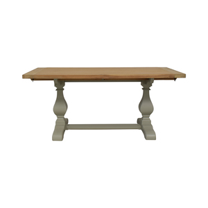 John Lewis John Lewis Beech Wood and Light Green Extendable Dining Table price