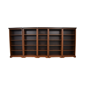 buy Country Willow Country Willow Five Wood Bookcases online