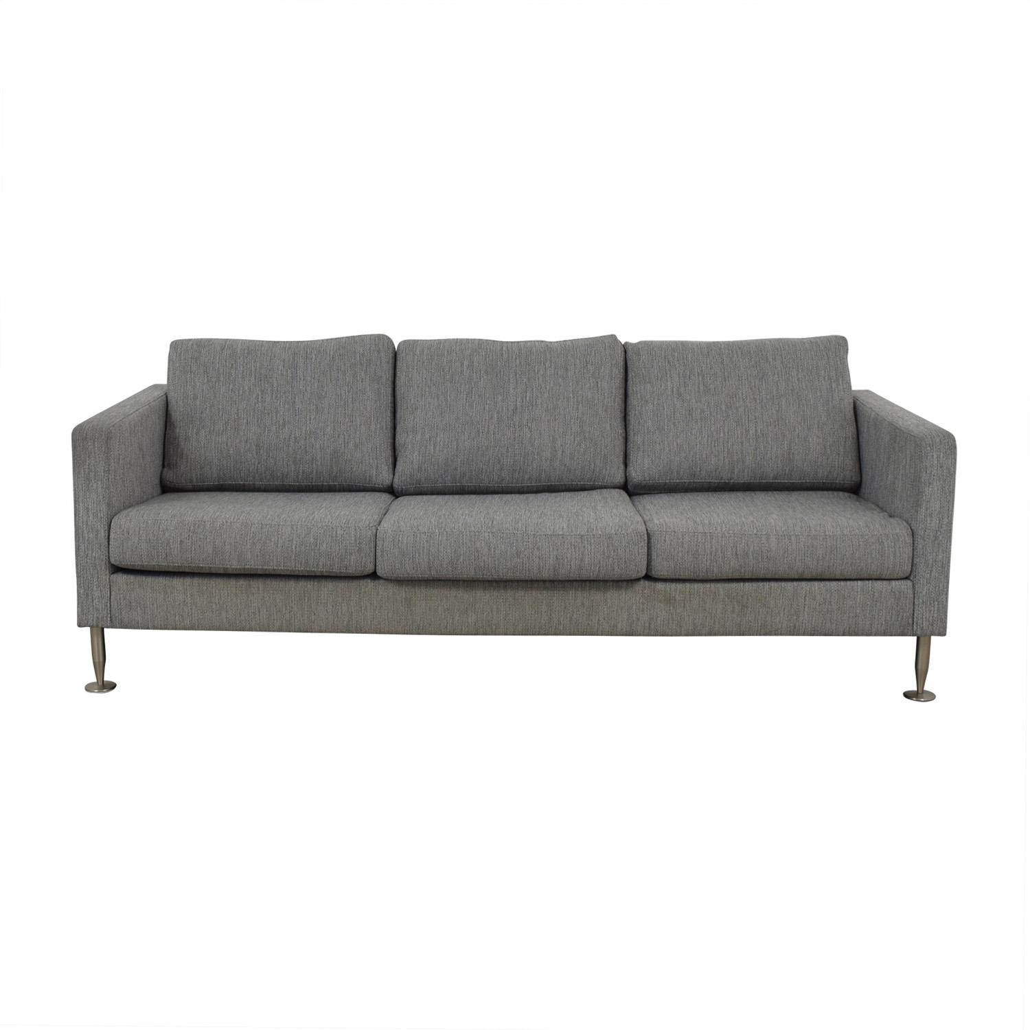 BoConcept BoConcept Grey Three-Cushion Couch nyc