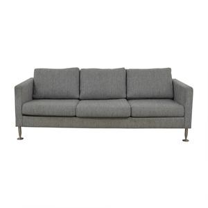 buy BoConcept Grey Three-Cushion Couch BoConcept