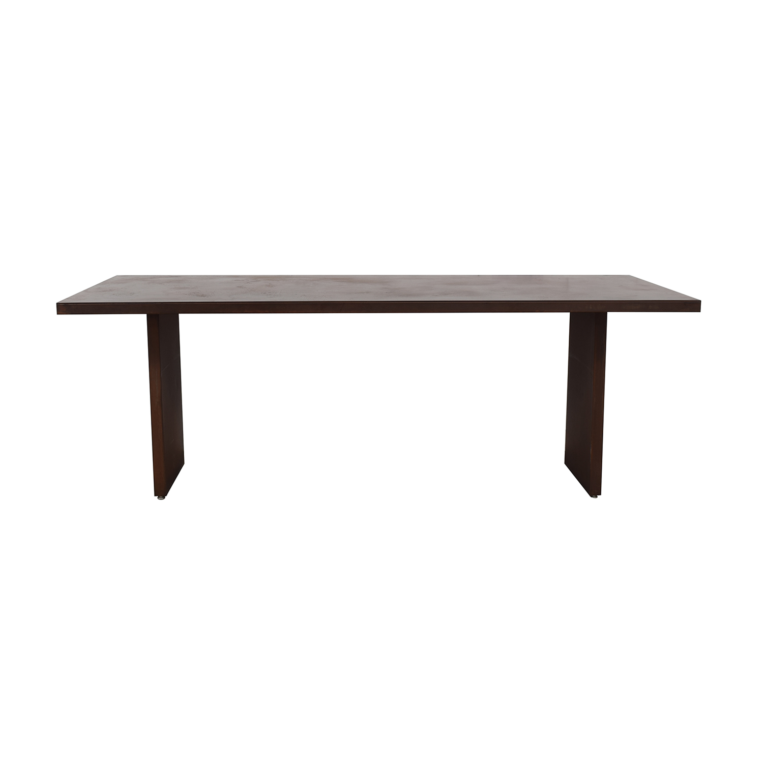 Desiron Desiron Rust-Colored Steel Dining Table price