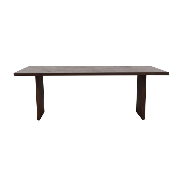 buy Desiron Rust-Colored Steel Dining Table Desiron Tables