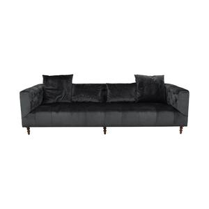 shop  Gray Ms. Chesterfield Mod Velvet Sofa online