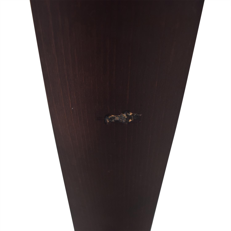 shop Roche Bobois Glass Top Extendable Dining Table Roche Bobois
