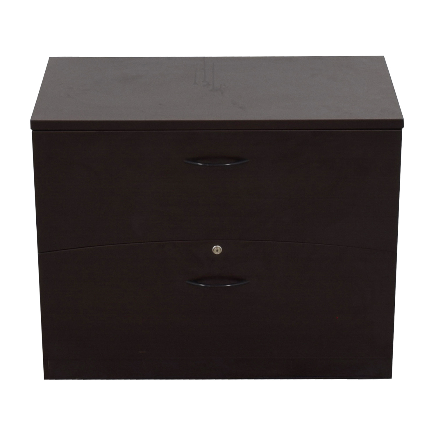 shop Mayline Two-Drawer Lateral File Cabinet Mayline