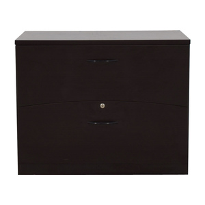 Mayline Mayline Two-Drawer Lateral File Cabinet Storage