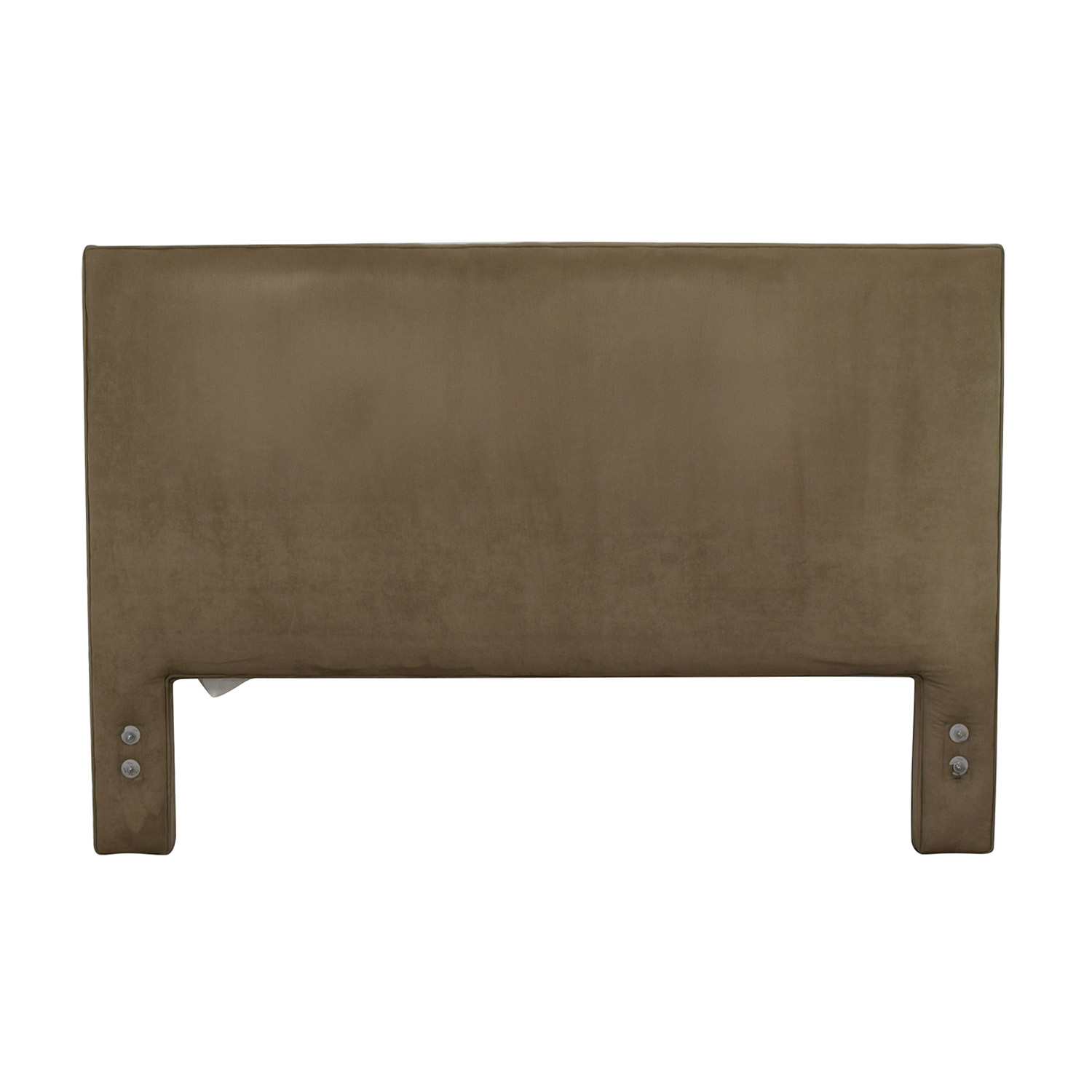 buy The Door Store Grey Suede Queen Headboard The Door Store