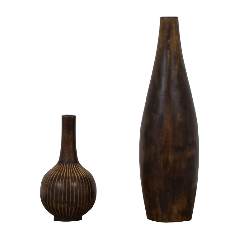 Elevations Elevations Wood Urns Decor