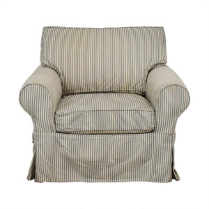 Mitchell Gold + Bob Williams Mitchell Gold + Bob Williams Comfort Roll Arm Slipcovered Grand Chair nyc