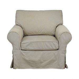 Mitchell Gold + Bob Williams Mitchell Gold + Bob Williams Comfort Roll Arm Slipcovered Grand Chair
