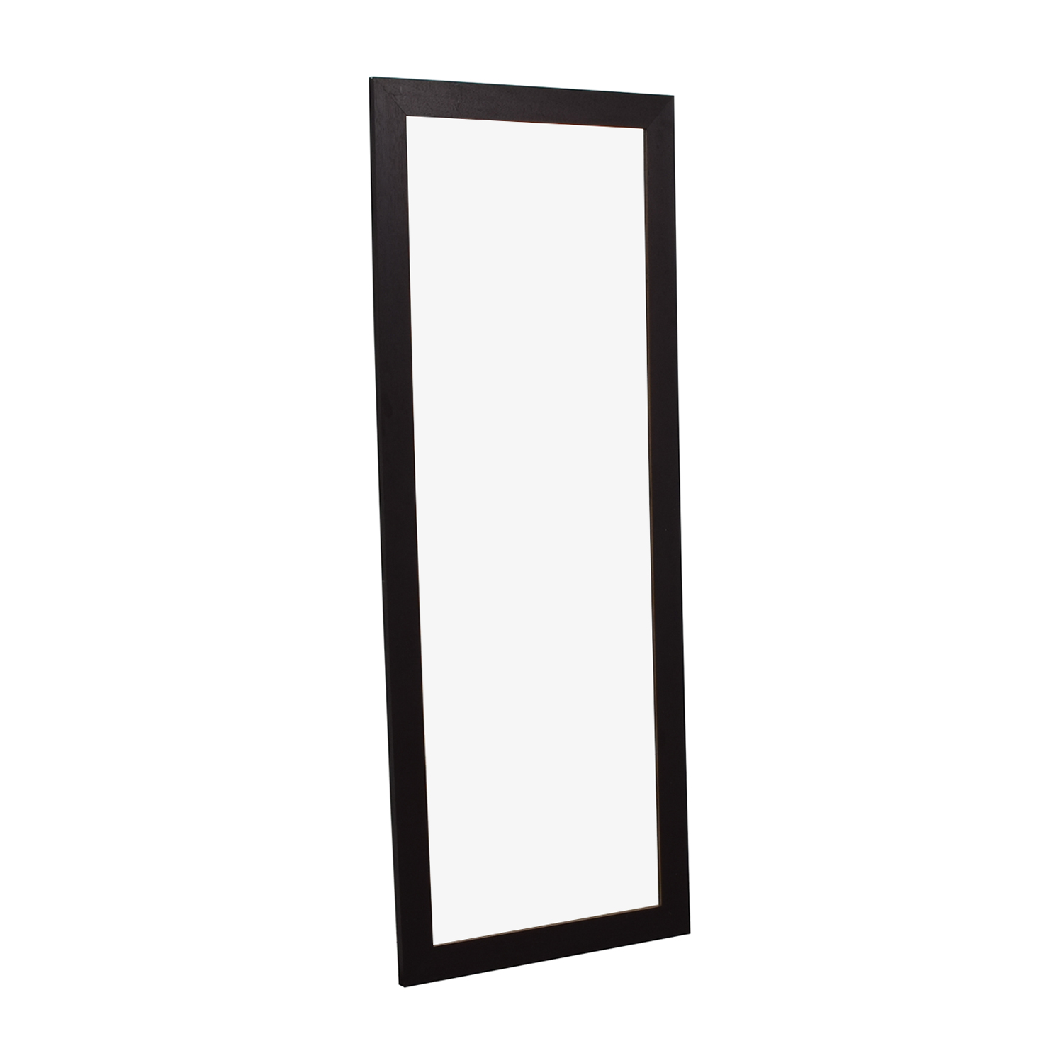 Wood Framed Floor Mirror sale