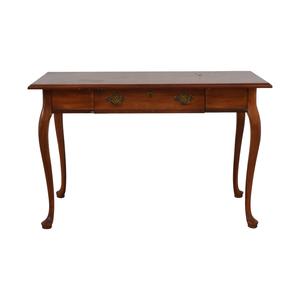 buy  Vintage Wood Queen Anne Single-Drawer Desk online