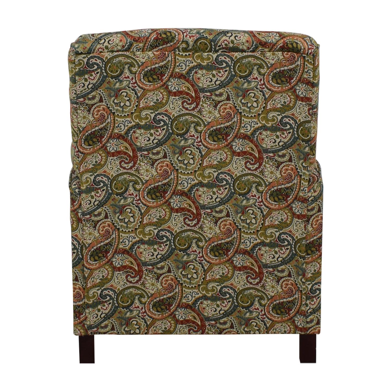 Jennifer Furniture Jennifer Furniture Multi-Colored Push Back Recliner second hand