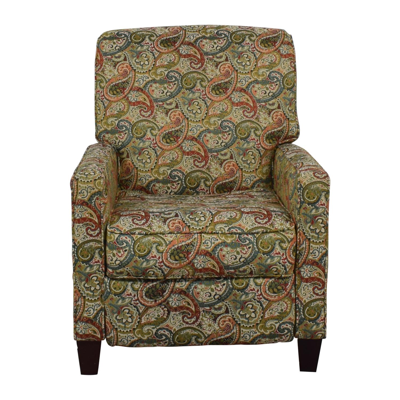 buy Jennifer Furniture Multi-Colored Push Back Recliner Jennifer Furniture