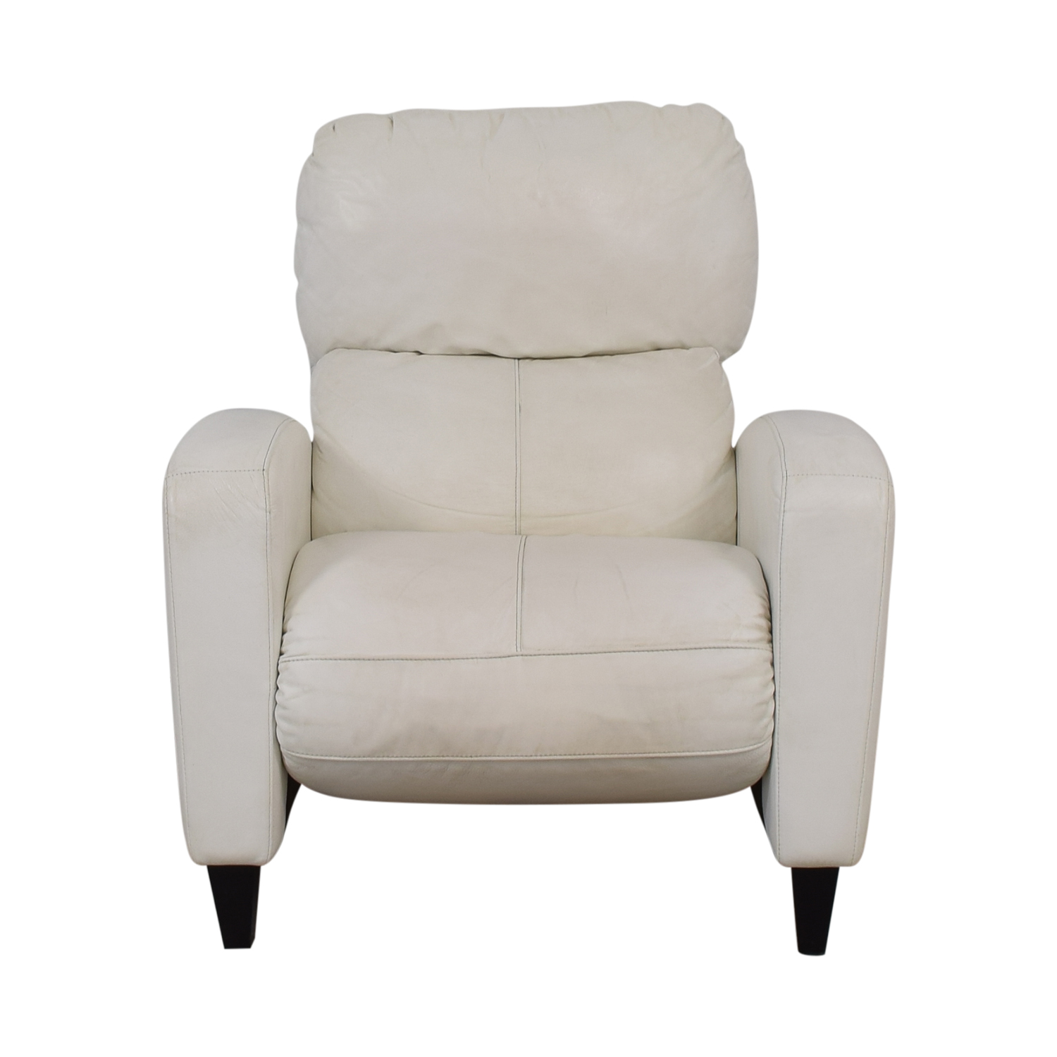 American Leather American Leather White Leather Recliner used