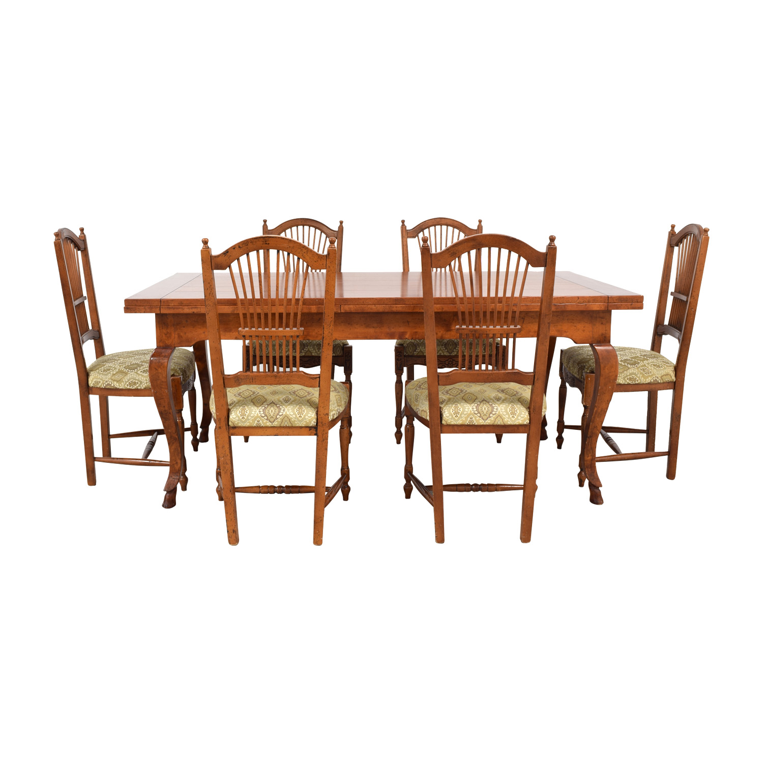 Zichele Bloomingdale's Zichele Wood Expandable Dining Set nyc