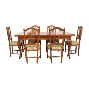 Bloomingdale's Zichele Wood Expandable Dining Set Bloomingdale's