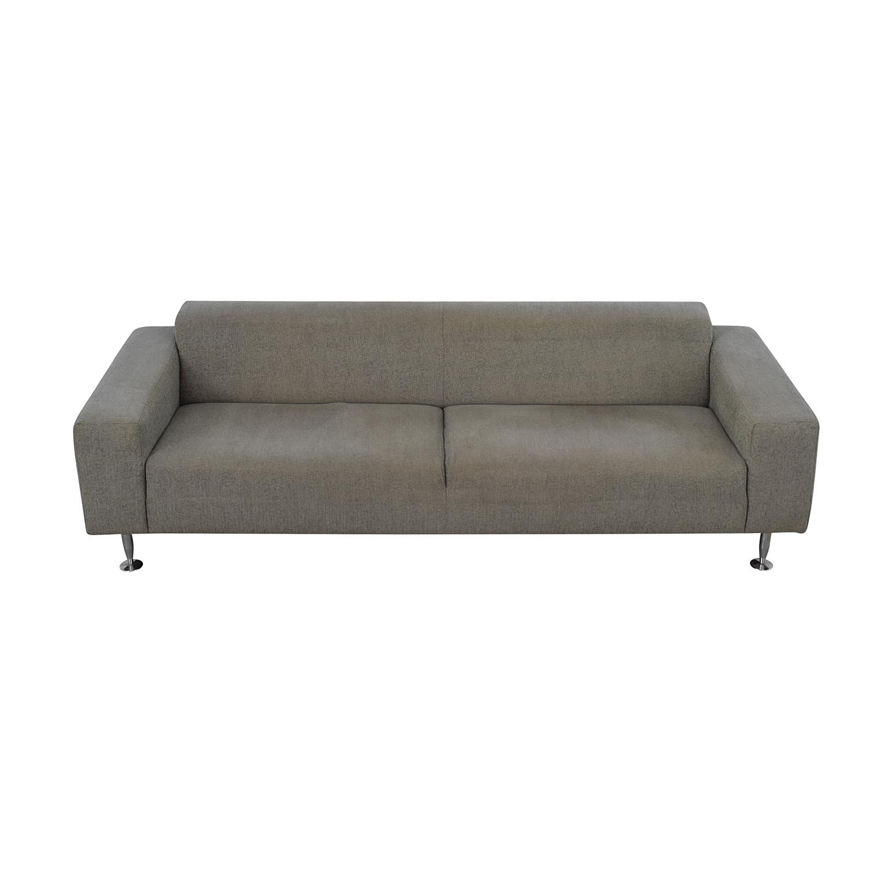 BoConcept BoConcept Grey Two-Cushion Sofa nj