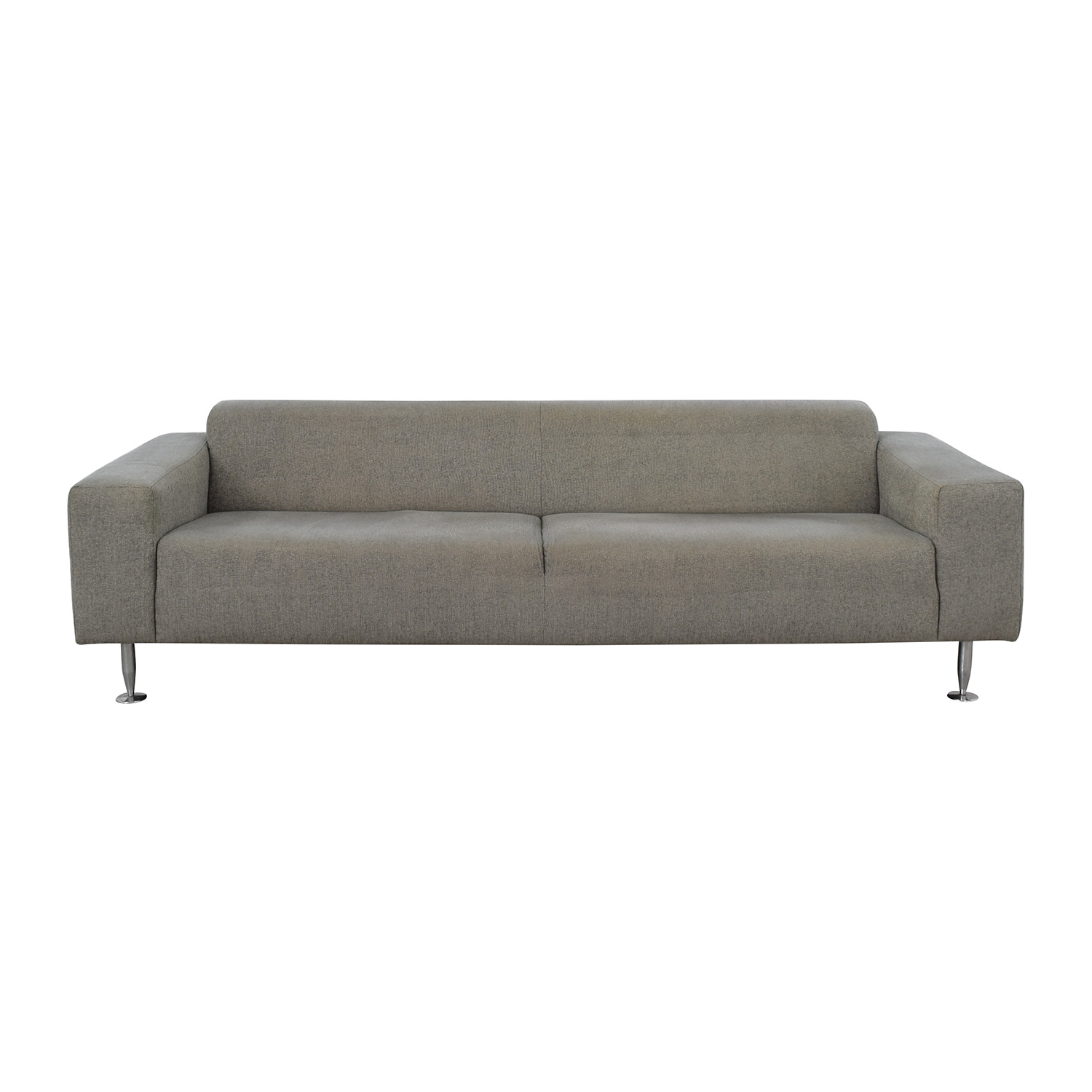BoConcept BoConcept Grey Two-Cushion Sofa dimensions