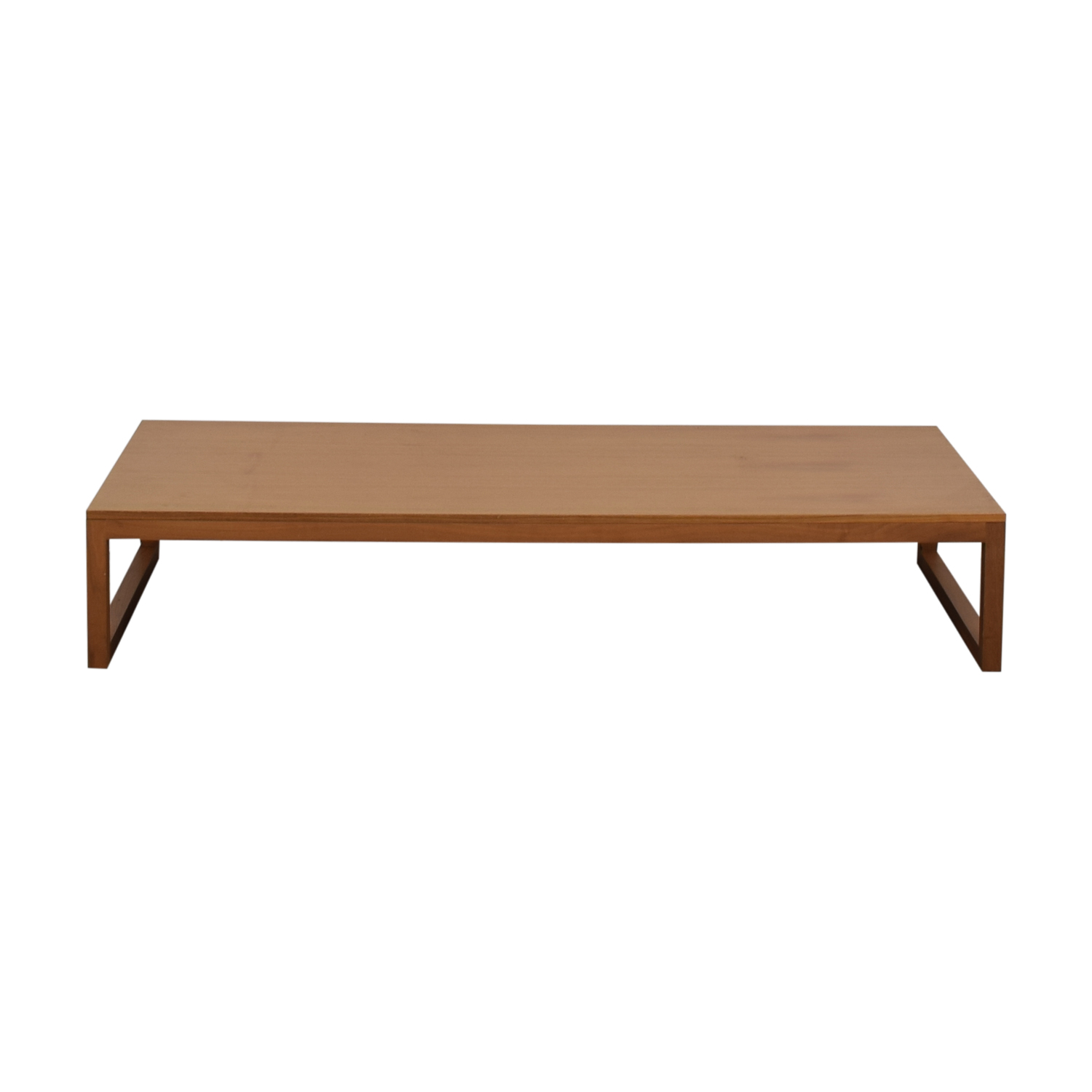 Design Within Reach Design With Reach Wood Coffee Table nj